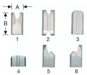зачистные ножи для удаления сварного шва, фрезы-ножи для удаления облоя, ножи для зачистных станков, зачистные ножи ROTOX