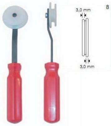 Ролик для закатки уплотнителя, ролик для закатки резины, ролик для оконного уплотнения, ролик для москитного шнура