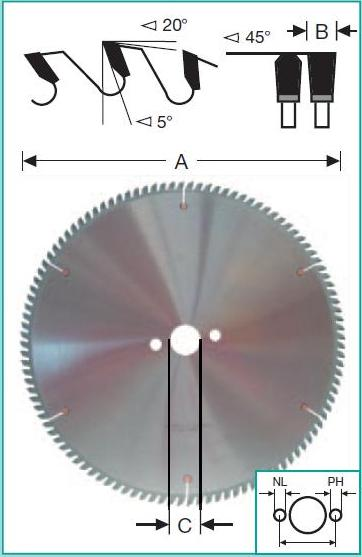 пильный диск по алюминию 250х30, пильный диск по пластику 250х30