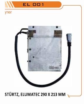 нагревательные плиты для сварочника Elumatec, запасные зеркала для Elumatec, запасные утюги для сварочного станка Elumatec