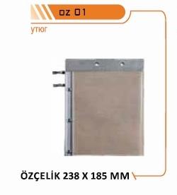 запасные зеркала для сварного станка OZCELIK, утюги для сварного станка OZCELIK, запасные нагревательные элементы для сварного станка OZCELIK