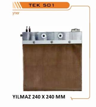 нагревательные плиты YILMAZ, нагревательные зеркала YILMAZ, утюги сварки YILMAZ