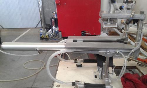 Пневматический зачистной станок Zierke 7405, пневматическая зачистка для ПВХ, Zierke 7405, оборудование для зачистки ПВХ окон