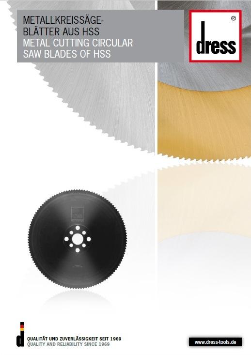 hss пильные диски DRESS, диски hss марки DRESS, пильные диски DRESS из быстрорежущей стали