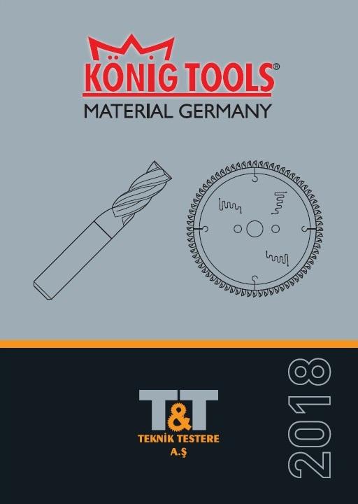 каталог KONIG, концевые фрезы KONIG, сверла под ручку KONIG, зачистные ножи KONIG, турецкий инструмент KONIG, пильные диски KONIG
