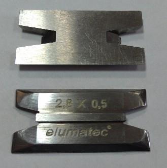 зачистной нож для Stürtz, зачистной нож для Elumatec, зачистной нож Wemaro, зачистной нож 2,8х0,5, цикля для ПВХ, 900 000 212, 900.000.212